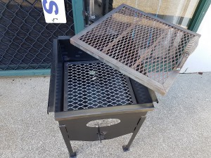 Fire pit and char grill